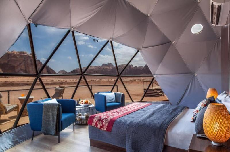 Bubble hotels que tienes que conocer - suncity-camp-jordania