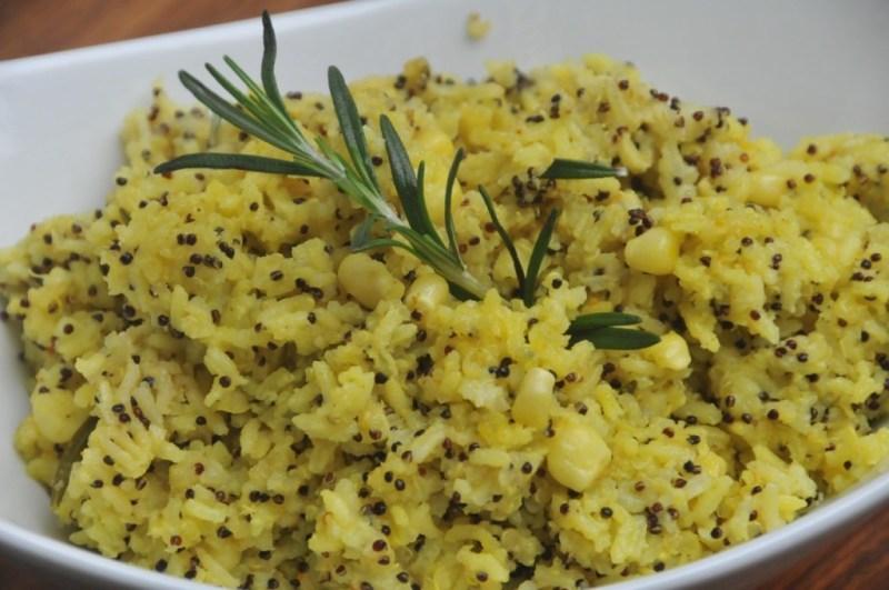 Recetas para una Navidad saludable - arroz-andino-con-curcuma-y-quinoa