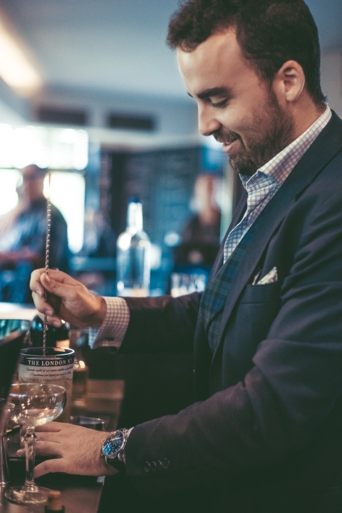 Entrevista a Álvaro Plata, embajador internacional de la ginebra The London No. 1 - bartender