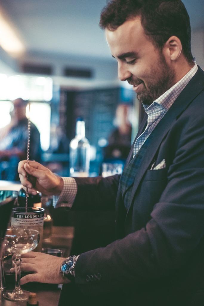 Entrevista a Álvaro Plata, embajador internacional de la ginebra The London No. 1 - bartender