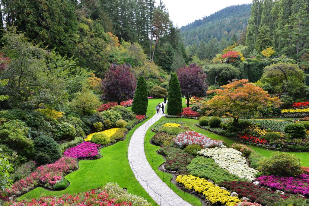 Los jardines botánicos más bonitos del mundo - Butchart Gardens Canadá PORTADA