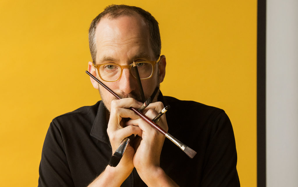 Christoph Niemann, excepcional ilustrador - Cristoph Neiman retrato foto