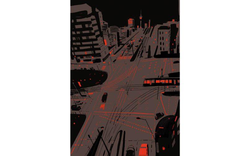 Christoph Niemann, excepcional ilustrador - ilustracion-ciudad-calle
