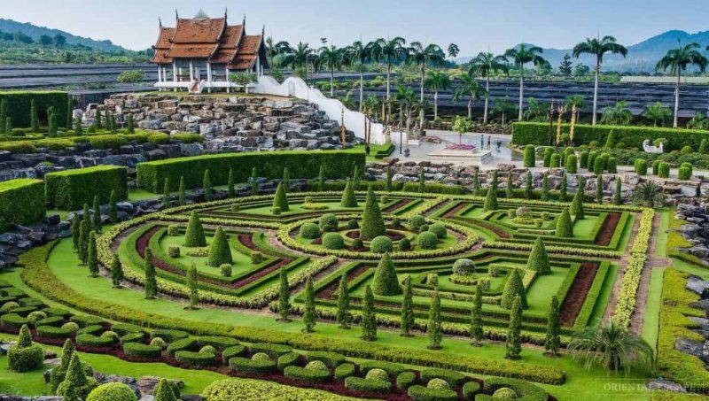 Los jardines botánicos más bonitos del mundo - nongnooch-tropical-botanical-garden-tailandia