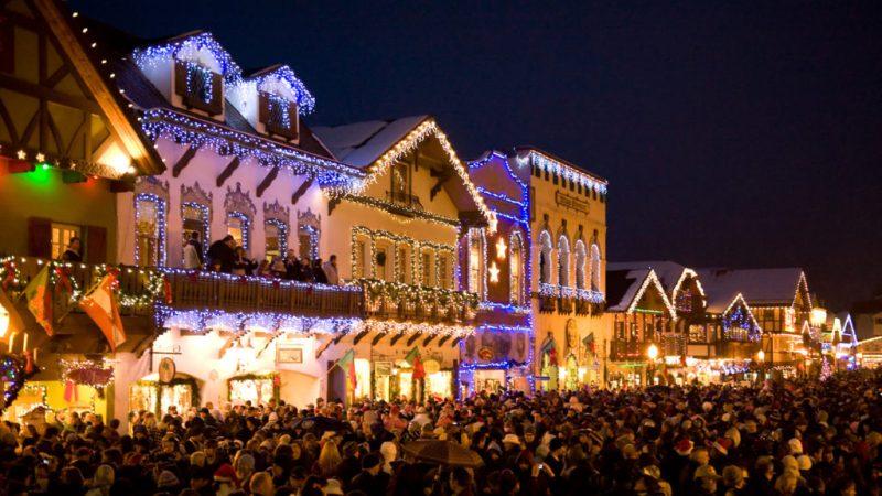 Los pueblos más navideños del mundo - pueblosnavidencc83os_leavenworth