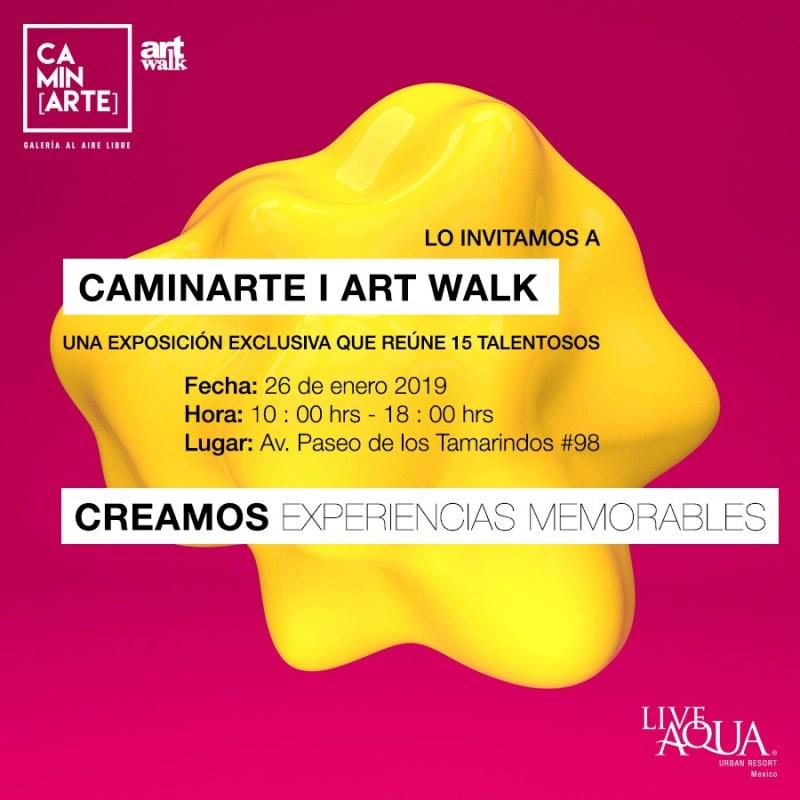 Recomendaciones para el fin de semana del 24 al 27 de enero - 2-caminarte-art-walk