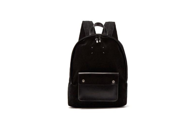 Hot stuff: las piezas que no deben faltar en tu clóset - backpack-negra-margiela