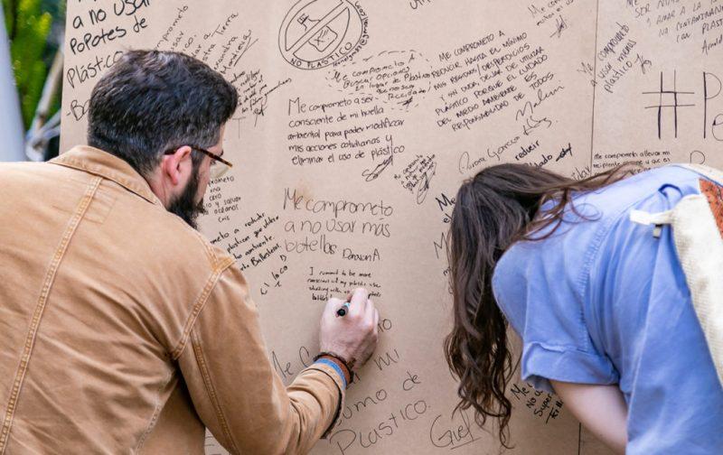 Earth X México, por el latido unísono del planeta - compromiso-escribir-papel-promesas