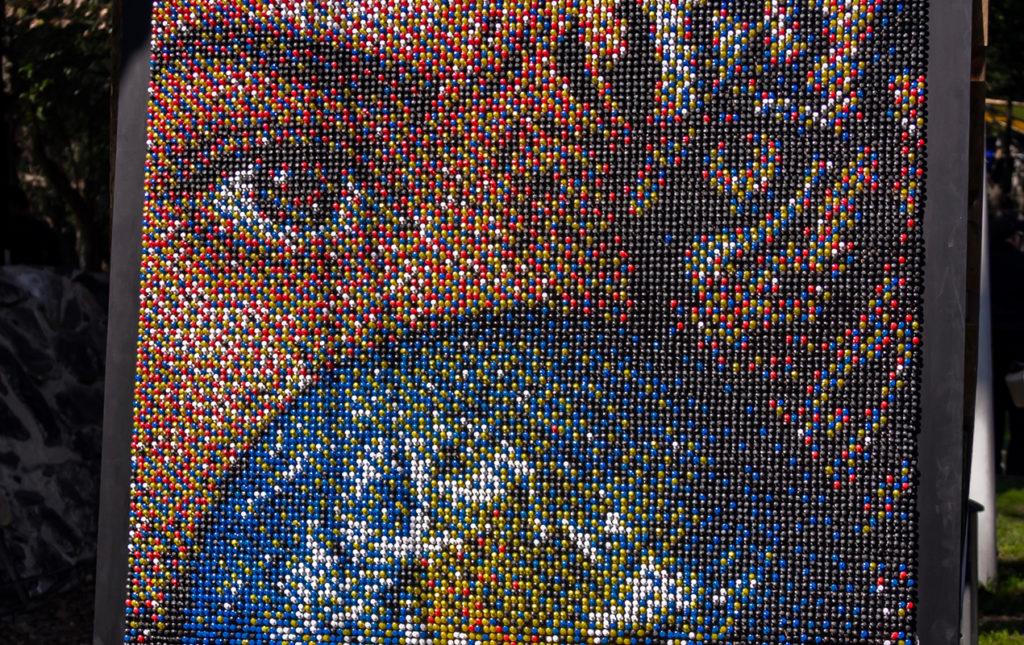 Earth X México, por el latido unísono del planeta - cuadro persona tigre mundo unión