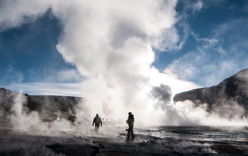 Atacama: postales del desierto más seco del mundo - desierto-atacama-chile-vapor-foto-agua