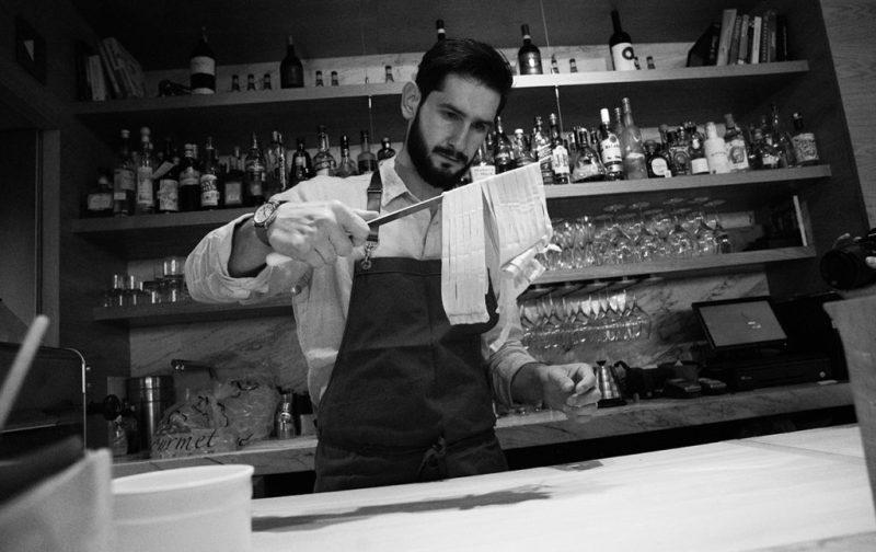 Marco Carboni y su Sartoria - foto-cocina-chef-pasta-sartoria