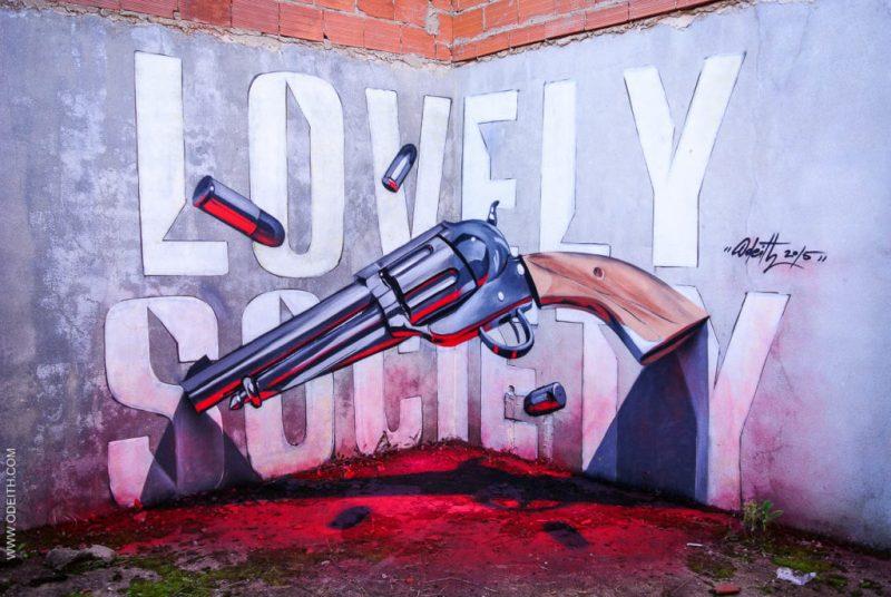 Los grafitis en 3D más impresionantes de Odeith - grafitis-impresionantes-3d-9