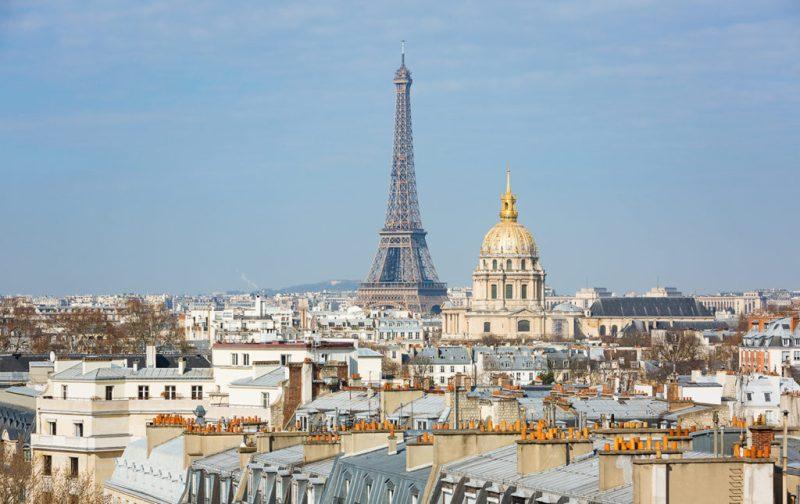 Lutetia, el mítico hotel de París - hotel-lutetia-eiffel-tower-view