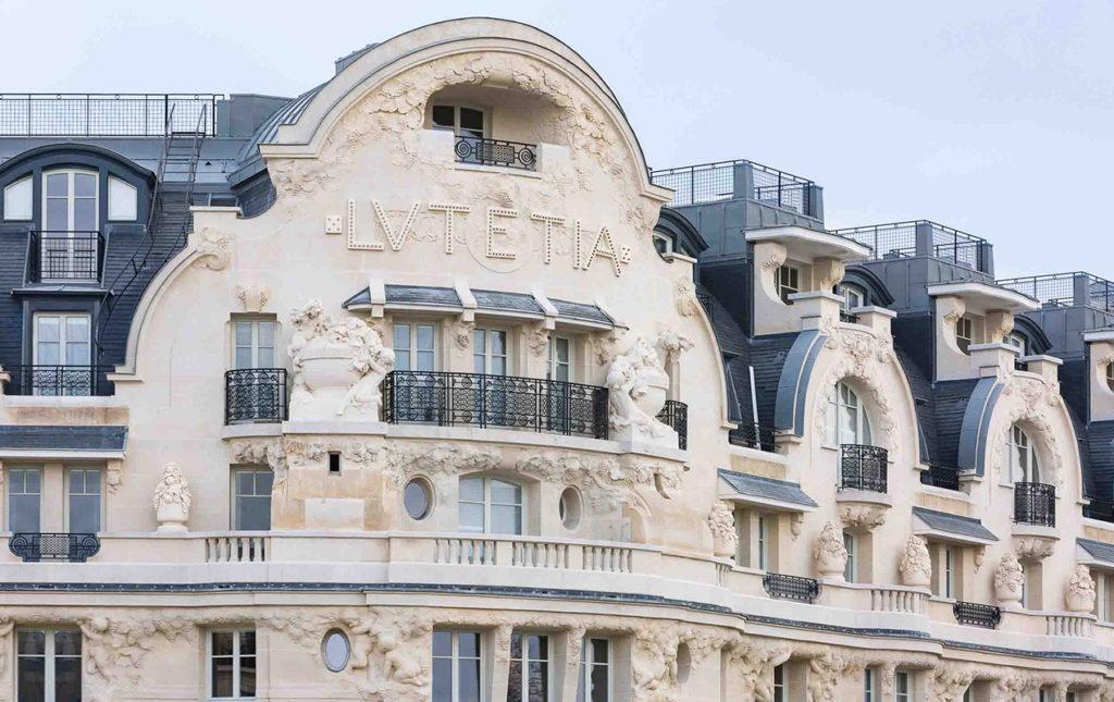 Lutetia, el mítico hotel de París - Hotel Lutetia facade