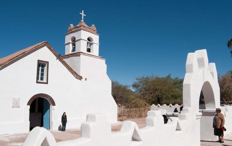 Atacama: postales del desierto más seco del mundo - iglesia-chile