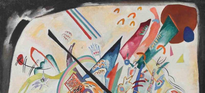 Kandinsky en Bellas Artes - kandinsky_pinturaconbordenegro
