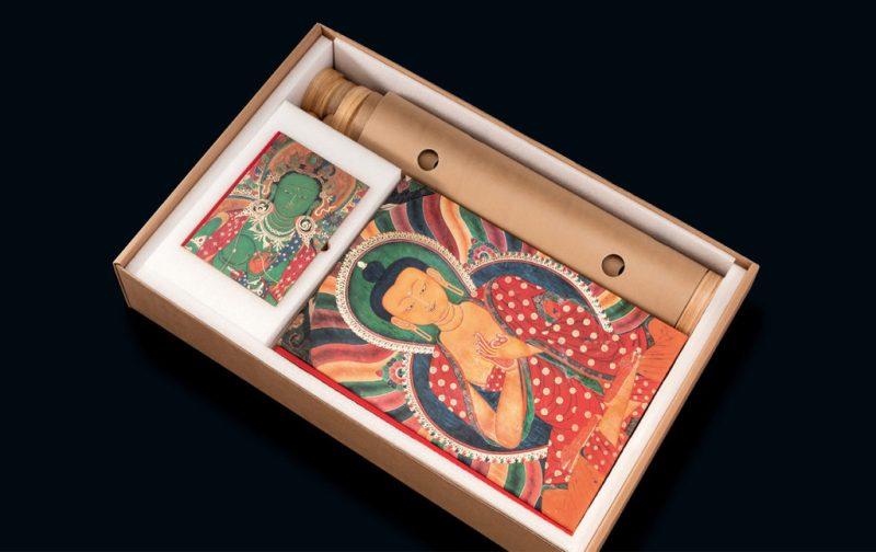 Thomas Laird y los murales del Tíbet - libro-caja