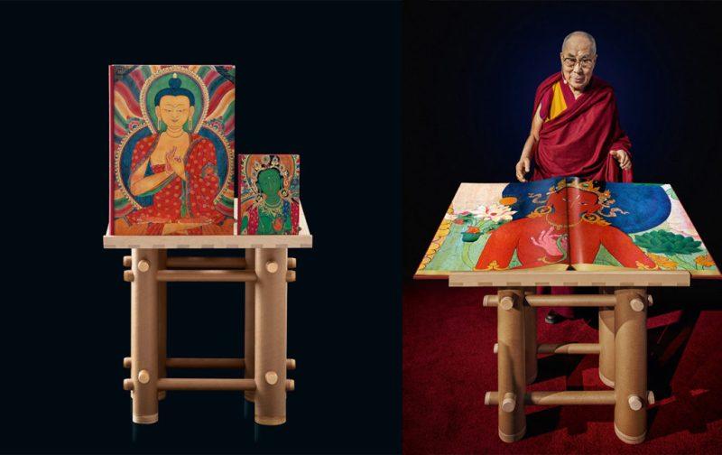 Thomas Laird y los murales del Tíbet - libros-pintura-monje-historia
