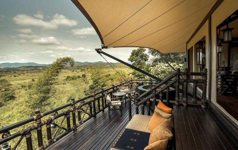 El mejor destino para tu luna de miel: Four Seasons Tented Camp - luxurious-tent-tented-camp-four-seasons
