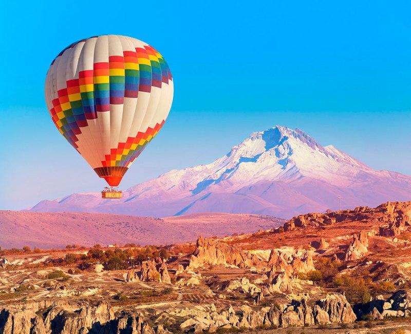 Capadocia, el paraíso de los globos aerostáticos - hotbook_globoscapadocia_-volcanerciyes