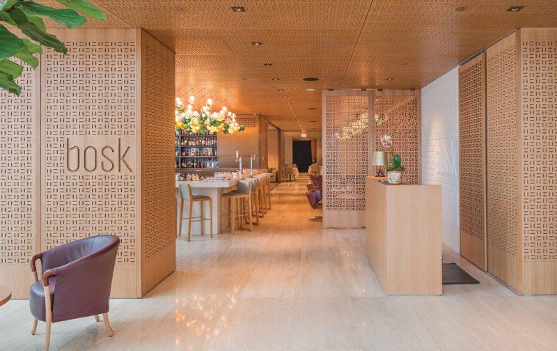 Hotel Shangri-La Toronto, un lujo asiático en Canadá - bosk-bar
