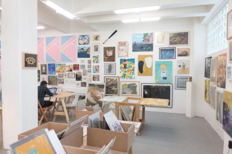 Casa Equis, una galería autogestionada por artistas, celebra su primer aniversario - hotbook20casa20equis20la20galeria20auto-ges-3