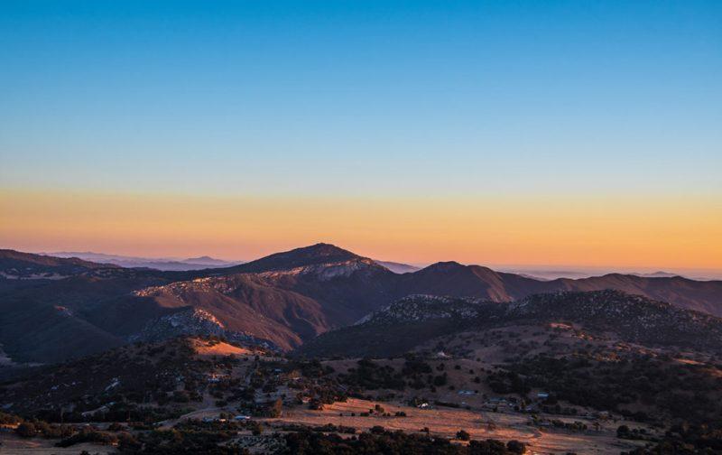 San Diego a la redonda: contrastes del sur de California - montancc83as-atardecer-cielo-vista-paisaje