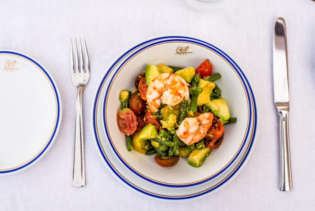 8 razones para comer en Cipriani - 8 razones para comer en Cipriani. Ensalada de camarón