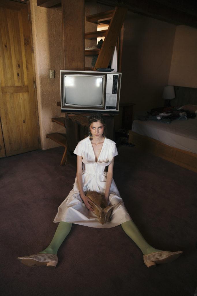 HOTfashion: Granja Extravaganza - dress-fashion-outfit-bunny-model