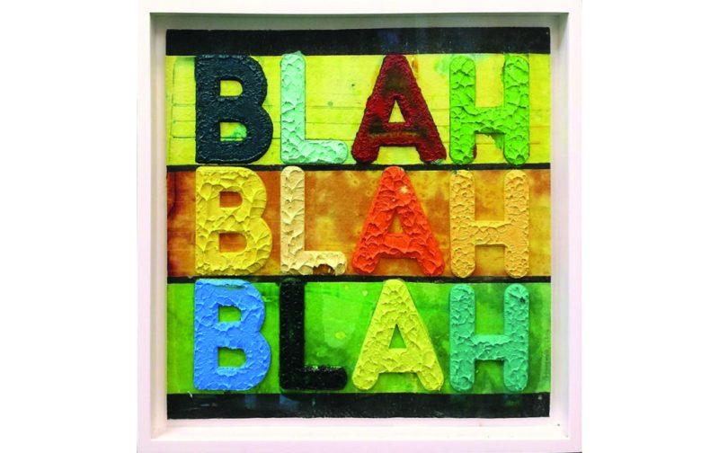 Home wishlist - mel-bochner-blah-blah-blah