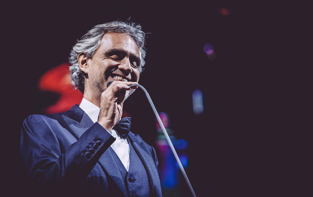 Andrea Bocelli, entrevista con el tenor italiano - PORTADA cantante ópera Andrea Bocelli