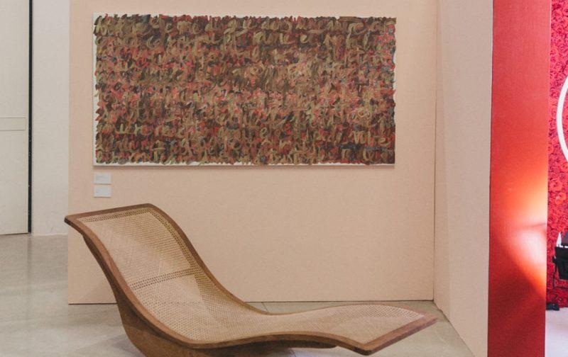Anónimo: subastas de arte - silla-cuadro-pared-exposicion-anonimo-artistas-arte
