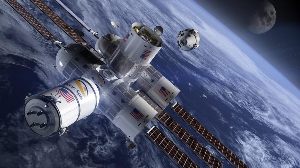 El primer hotel en el espacio - Aurora-station-1
