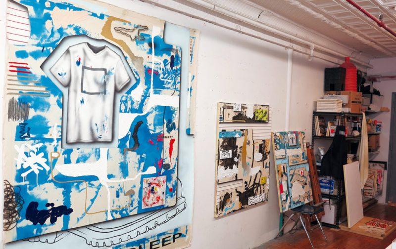 Josh Reames: libre de mensajes didácticos - cuadros-taller-josh-reames-arte-artista