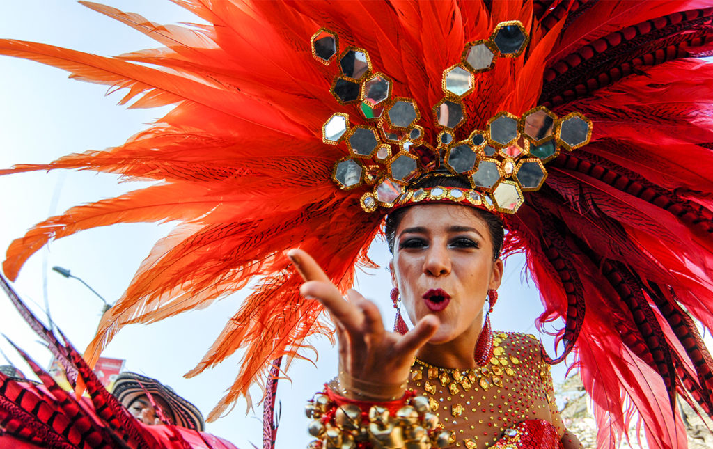 Carnaval: imágenes paganas - PORTADA carnaval baile colores festival plumas disfraz