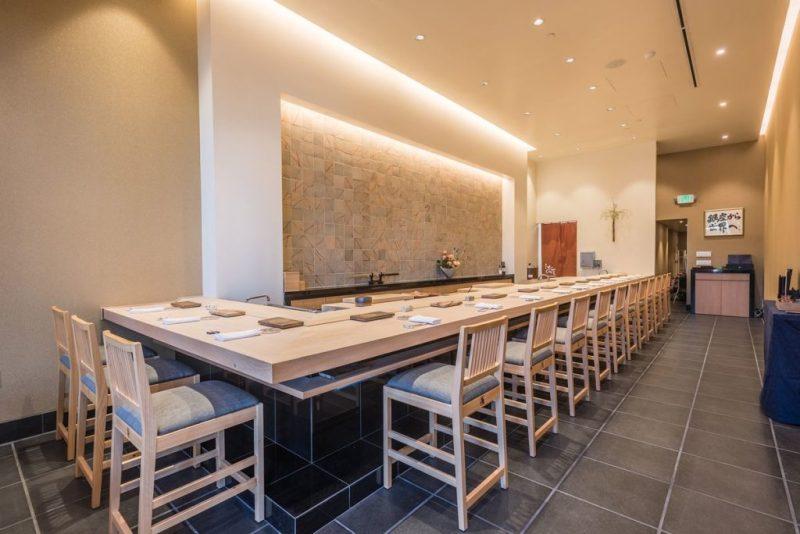 10 de los mejores restaurantes de California según la guía Michelin - guiamichelin_sushiginza