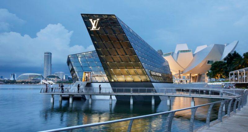 Las boutiques más impresionantes del mundo - modarecintosarquitectonicos_louisvuitton