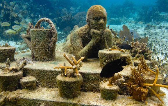 Los museos subacuáticos más cool del mundo - museossubacuaticos_islamujerescancun