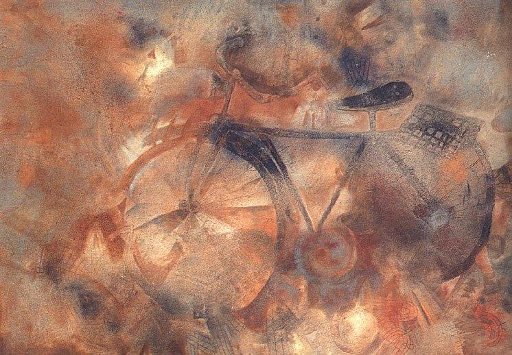 La zoología fantástica de Francisco Toledo - la-bicicleta-francisco-toledo