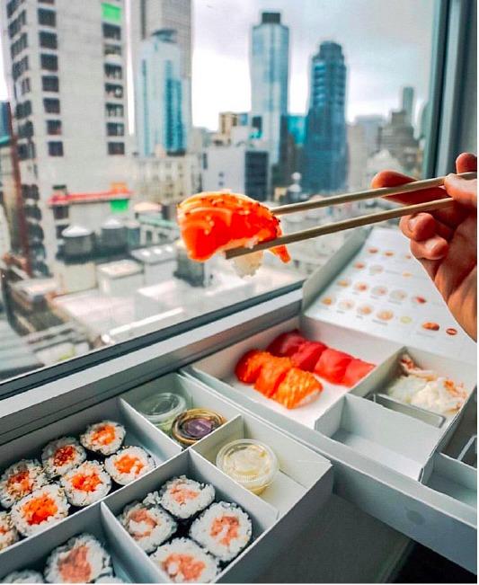 5 lugares de sushi en California que no te puedes perder - portada sushi