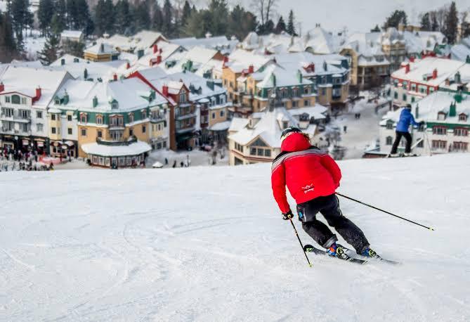 Destinos imperdibles para ir a esquiar - esquiar-quebec