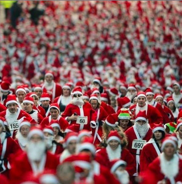 Recomendaciones para el fin de semana del 13 al 15 de diciembre - the-santa-run