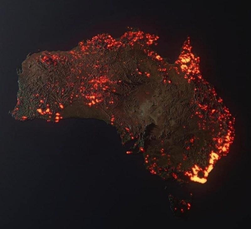 8 asociaciones a las que puedes donar para ayudar a Australia - incendio-australia