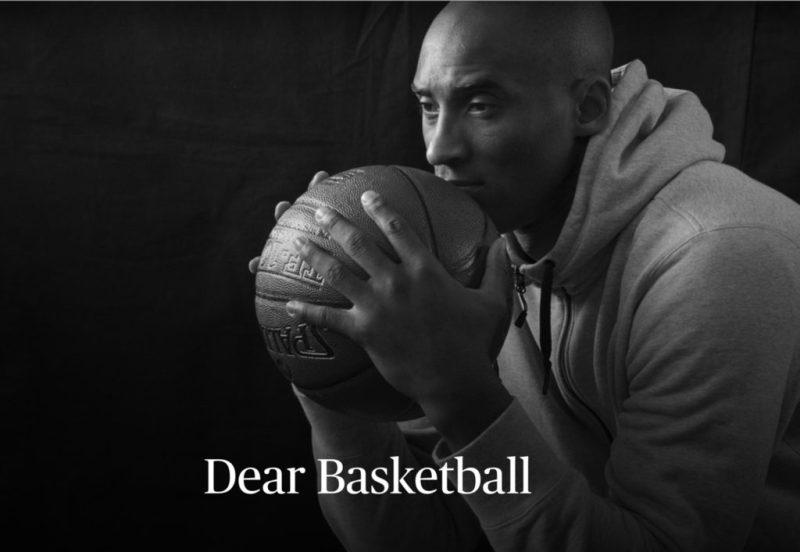 'Dear Basketball', el cortometraje de Kobe Bryant que ganó un Óscar - kobe-bryant-dear-basketball