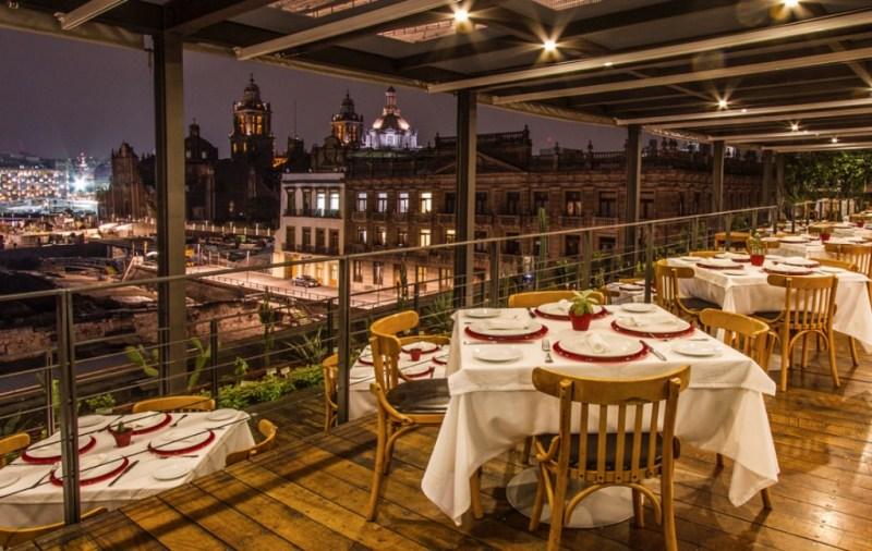 6 restaurantes imperdibles en el Centro de la CDMX - terraza-restaurante-centro-el-mayor