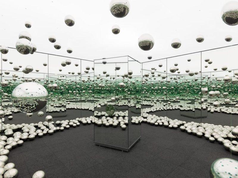 Infinity Rooms, la extraordinaria creación de Yayoi Kusama - yayoi-kusama-12