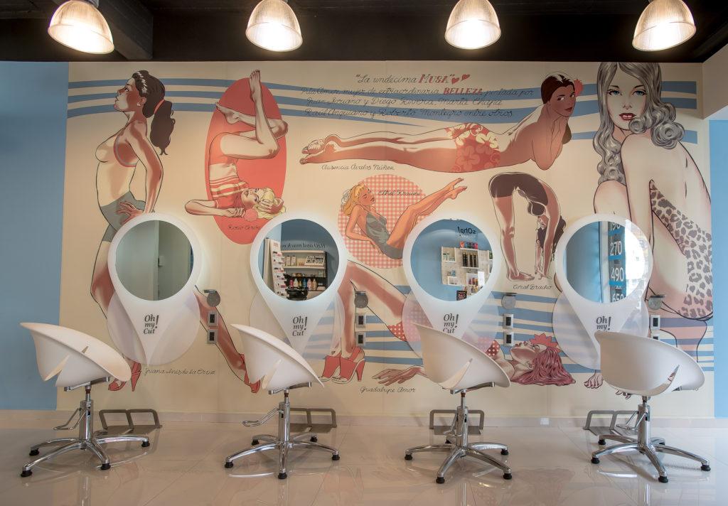 Conoce los mejores salones de belleza de Polanco - oh my cut salon salones de belleza polanco