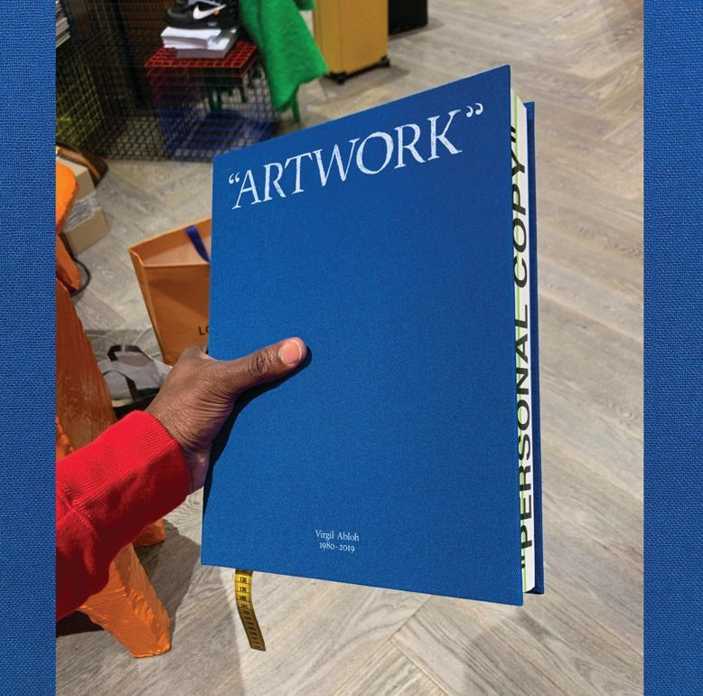 Coffee-table books que necesitas este 2020 - Virgil Abloh Figure of Speech Coffee table books que necesitas este 2020
