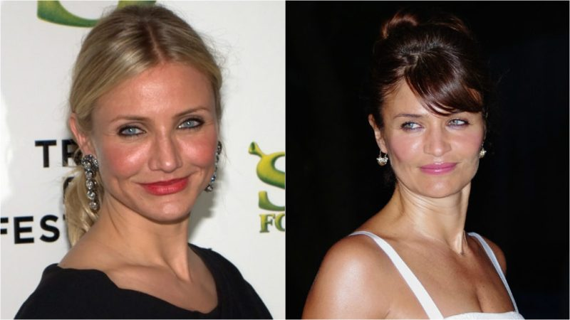 Celebridades que parecen gemelas - cameron-diaz-y-helena-christensen-celebridades-que-podrian-parecer-gemelos-coronavirus-cuarentena-covid-coronavirus-15