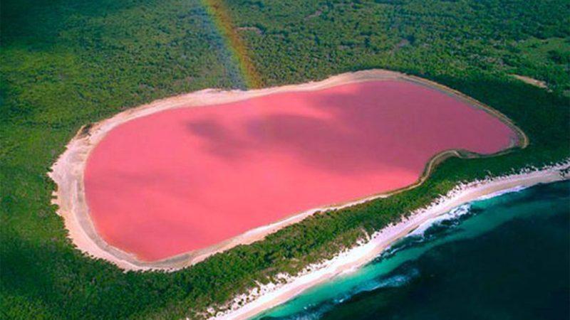 24 fotos que te transportarán a lugares inimaginables - lake-hillier-australia-fotos-de-lugares-inimaginables-que-te-transportaran-virtualmente-coronavirus-internet-fotos-20
